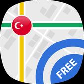 Travel Turkey: GPS Navigation & Maps icon