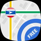 Travel Thailand : GPS Navigation & Maps icon