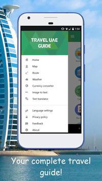 Travel UAE : GPS Navigation & Maps poster