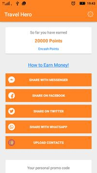 Travel Hero: Earn Free Money apk screenshot