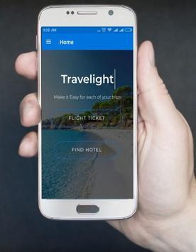 Travelight - Cheaps Flight & Hotel Deal screenshot 1