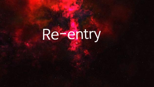Re-entry poster