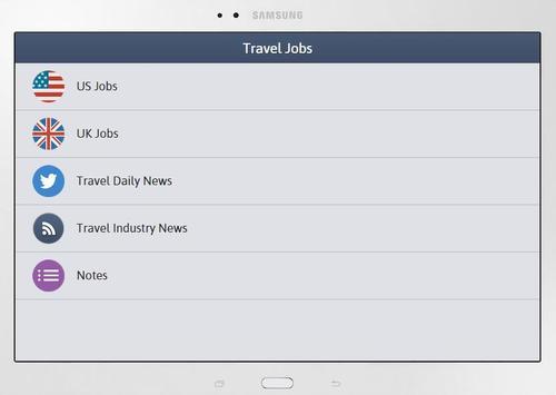 Travel Jobs apk screenshot