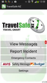 TravelsafeNZ poster