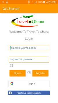 TravelToGhana screenshot 1