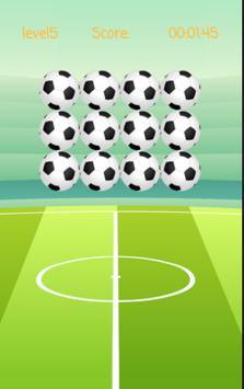2018 Soccer Memory Game poster