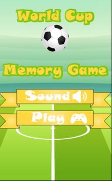 2018 Soccer Memory Game screenshot 1
