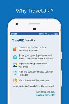 TravelUR स्क्रीनशॉट 1