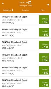 PUNBUS - Punjab Roadways apk screenshot