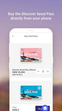Discover Seoul Pass apk screenshot