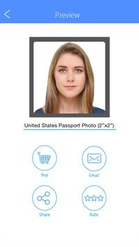 Passport Photo Booth - Take & Print ID Pictures apk screenshot