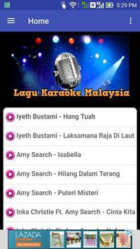 Lagu Karaoke Malaysia poster