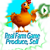 Real Farm Game Produce, Sell icon