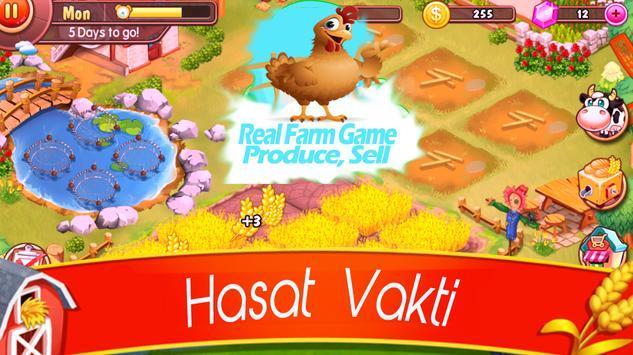 Real Farm Game Produce, Sell apk screenshot
