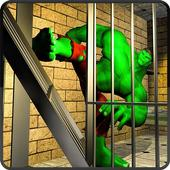 Incredible Monster Superhero: Prison Escape Games icon