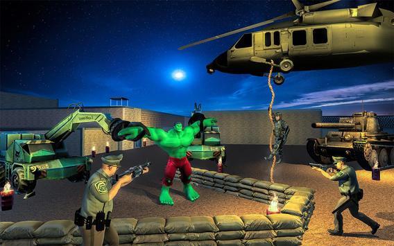 Incredible Monster Superhero: Prison Escape Games screenshot 4