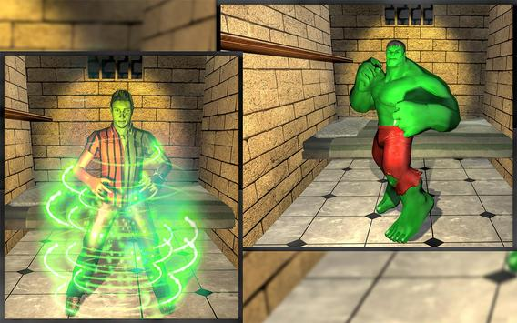 Incredible Monster Superhero: Prison Escape Games poster