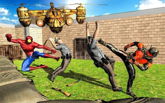 Incredible Monster Superhero: Prison Escape Games screenshot 12