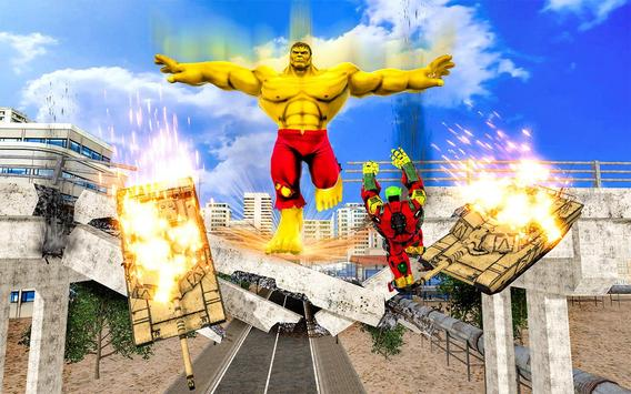 Hammer Superhero Monster Wars Incredible Hero Game screenshot 3