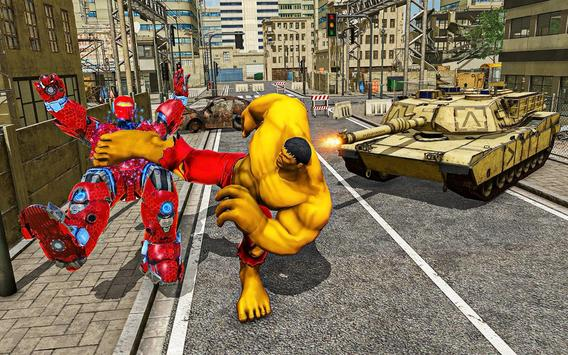 Hammer Superhero Monster Wars Incredible Hero Game screenshot 10
