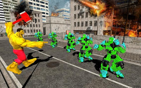Hammer Superhero Monster Wars Incredible Hero Game screenshot 2