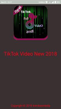 Video Tik - Tok Terbaru 2018 ポスター