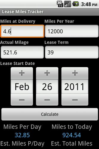 lease miles tracker for android apk download