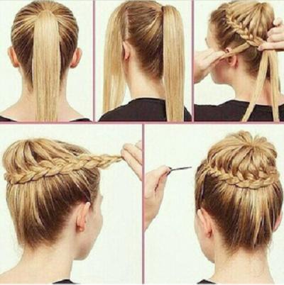 Peinados con trenzas imagenes