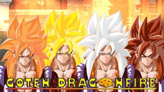 Goten Dragonfire poster