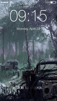 Chernobyl Stalker 4K PIN Lock poster