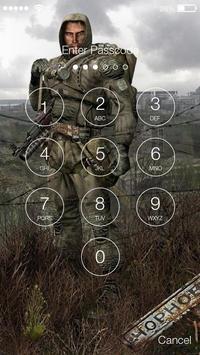 Chernobyl Stalker 4K PIN Lock screenshot 1
