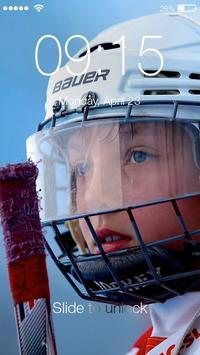 Hockey Legends Sport PIN Lock poster