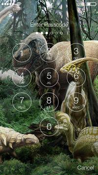 Raptor Dinosaur Screen Lock apk screenshot