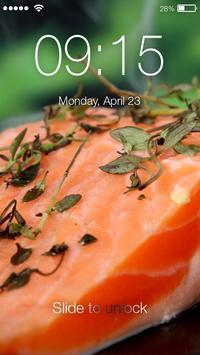 Sushi Bar Rolls Screen Lock poster