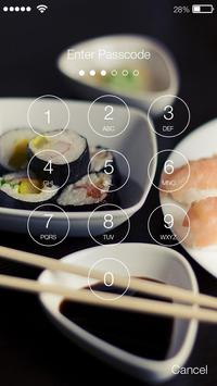 Sushi Bar Rolls Screen Lock apk screenshot