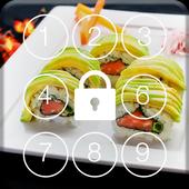 Sushi World HD Screen Lock icon