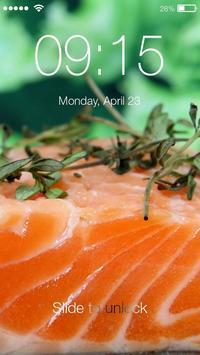 Sushi World HD Screen Lock poster