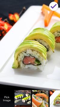 Sushi World HD Screen Lock apk screenshot
