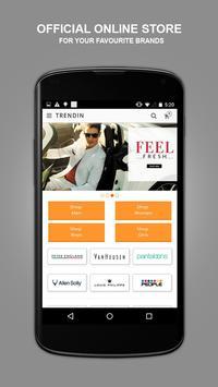 TRENDIN – Online Fashion App poster