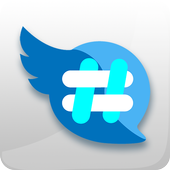 Hashtag Users - Twitter management tools Zeichen