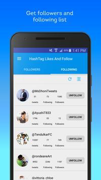Hashtag Users - Twitter management tools Screenshot 4