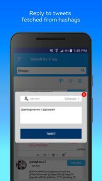 Hashtag Users - Twitter management tools Screenshot 3
