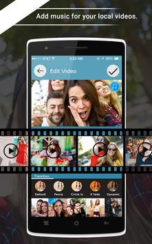 Videditor - Free video editor screenshot 1