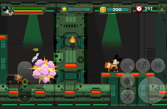 Mickey Action Castle Mouse Games screenshot 1