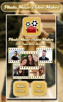 Photo Music Video Maker poster