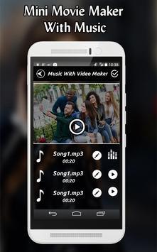 Mini Movie Maker With Music screenshot 4