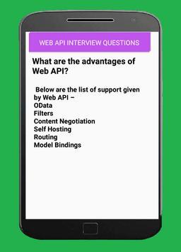 WEB API  INTERVIEW QUESTIONS apk screenshot