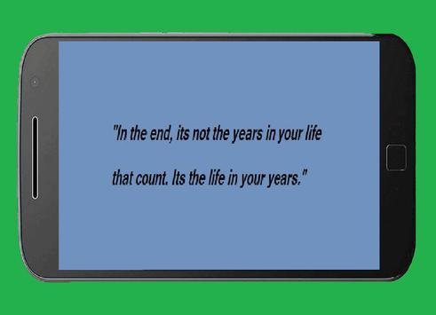 Abraham Lincoln Quotes screenshot 1