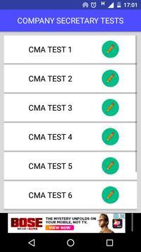 CS CMA ONLINE TEST screenshot 1