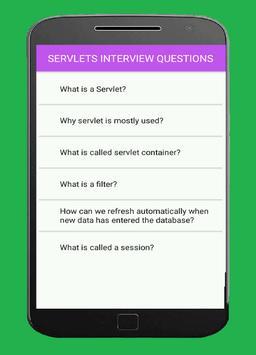 servlets interview questions poster
